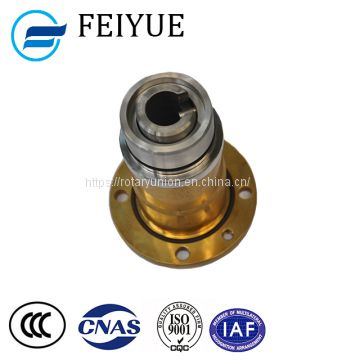 Steel rotary joint for water hydraulic rotating unions Embedded rotary joint for steelmaking CCM
