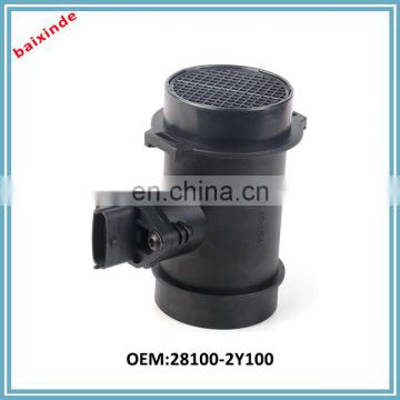 Auto parts High level manufacture KI A auto air flow meter 28100-2Y100 281002Y100