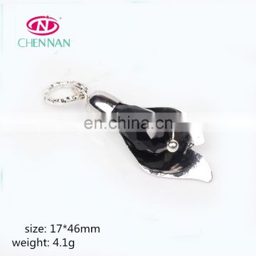 17*46 mm black virgin marry jewelry necklace drop pendant crystal tray for cabochon