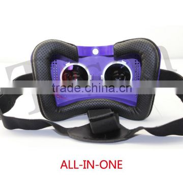 3d vr box new trend all in one 3d glasses for blue film video open sex video with wifi,bluetooth,tf card ,personal cinema