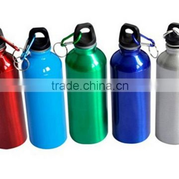 Aluminum Outdoor Sports Cycling Camping Water Bottles Drinking Kettle with Lid