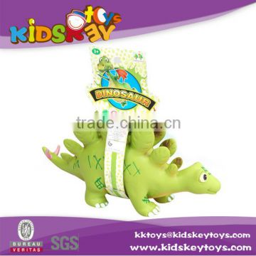 Cheap vinyl toy production bath toy soft rubber dinosaur toy