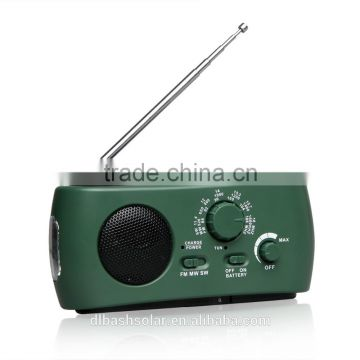 fm pocket radio AM FM FM/MW/SW emergency radio solar power pocket radio dynamo