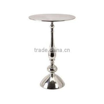 luxury silver plated metal table for sale
