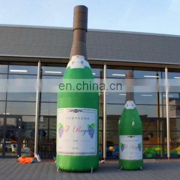 inflatable bottle for advertising,inflatable champagne bottle