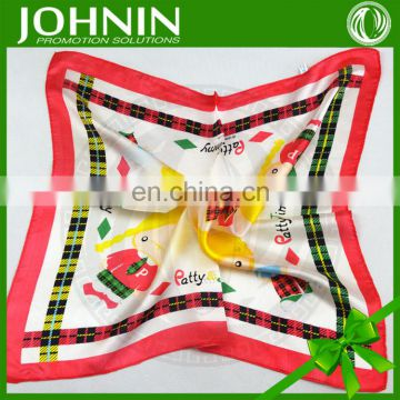 High quality Silk Square colorful Bandana