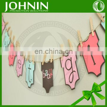 Good Design Hot Sale Cute Cheering Printing Baby Banner