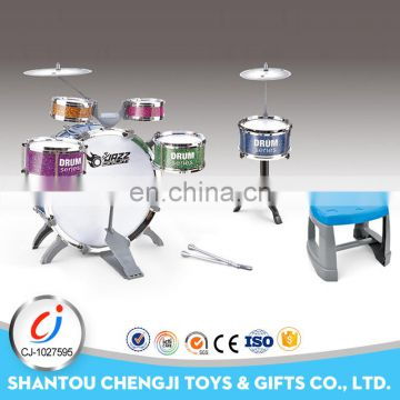 Funny kids game cartoon toy children drum set for kids