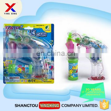 cheap price wholesale bubble gun toy with flashing led light