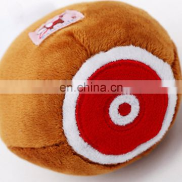 2017 new design Interest drumstick pet product stuffed plush dog toy for biting