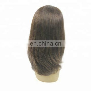 wholesale stock Human hair Machine Front Lace Wigs For Women