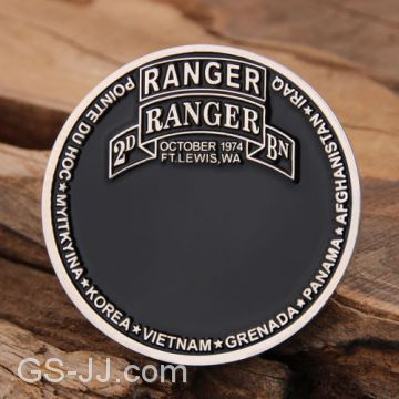 US Ranger Military Challenge Coins