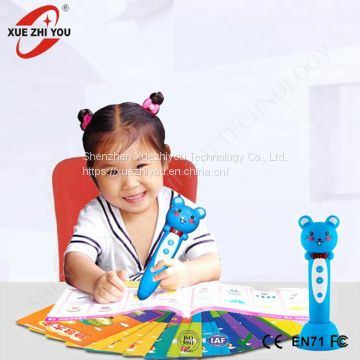 Toys for Kids Talking Pen Book OID Pen Educational English Sound Book