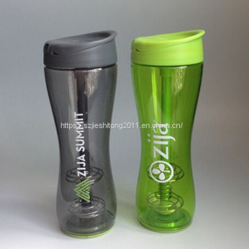 wholesale vacuum stainless steel 304 protein shaker water bottle with personal logo