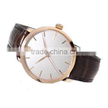promotion hot stainless steel fashion gift watch Water resistant on alibaba