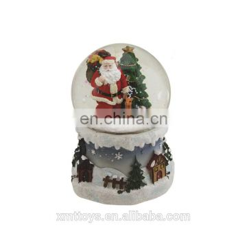 Christmas Santa snow globe for decoration gift