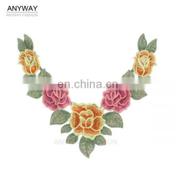 Fancy ladies lace choker collar;ladies collar styles;cotton lace collar patterns for dresses