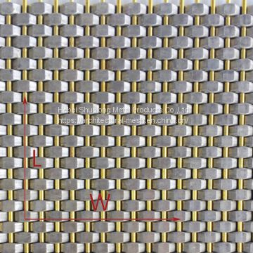 XY-1505 Brass Crimpled Mesh