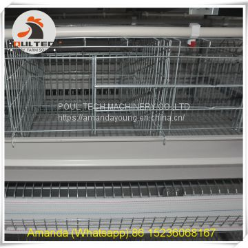 Mozambique Hot Sale Poultry Farming Equipment - Battery Chicken Cage & Layer Cage & Chicken Coop & Hen Coop & Laying Hen Cage in Chicken Shed