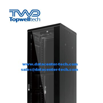 High Quality Customize Glass Door 42U Network Server Rack Cabinet For Data Center