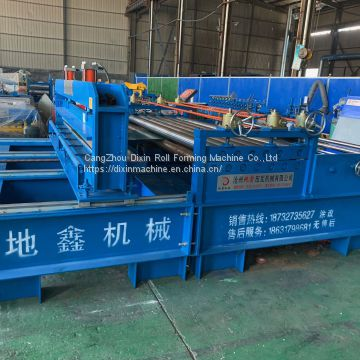 Steel plate steel coil flattening leveling cutting shearing machine