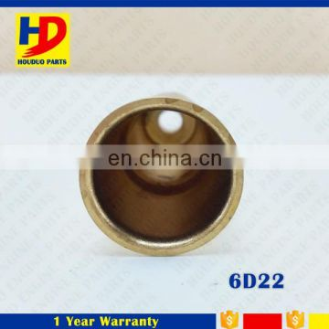 Diesel Engine Small Spare Parts Copper Fuel Injector Nozzle Sleeve Nozzle Tube For 6D22 Engine