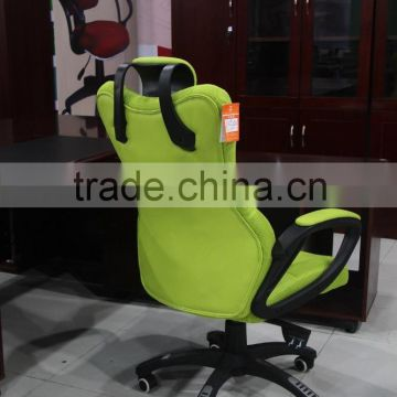 Hot sale mesh green office chair with metal frame