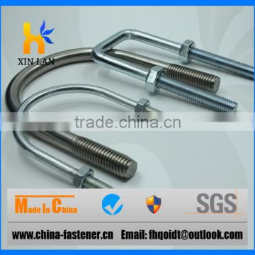 Rubber Coated Stainless Steel U Bolts Square for Truck