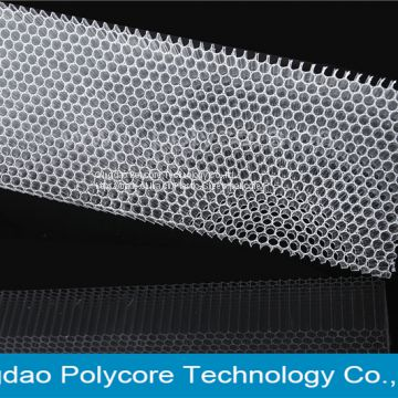 polycarbonate honeycomb act as air filter in commercial refrigeration display showcase