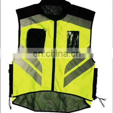2017 300d polyester fabric man reflective motorcycle jacket