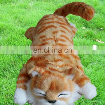 Cat rolling on the ground electronic toys