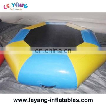 Inflatable Aqua Platform , Inflatable Water Trampoline For Kids And Adults