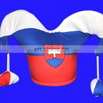 Slovakia National team football fans hat slovakia football hat