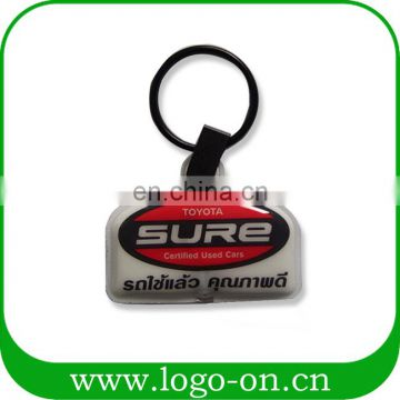 Factory Outlets Various Shapes Custom Pvc Puffy Led Keychain Led Maker