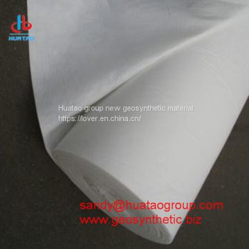 PP Staple Fiber Non woven Geotextile of geotxtile from China