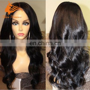 Full Lace Body Wave Human Hair Wigs Unprocessed Virgin Brazilian Natural Hair Wigs Loose Body Wave With Baby Hair Full Lace Wigs