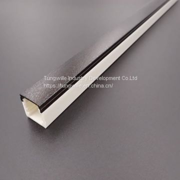 Co-Extrusion Two Colors Plastic Led Light Strip Flat Extrusion