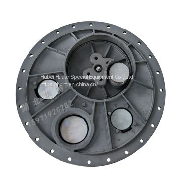 European standard manhole cover 24 holes automatically open in case of emergency
