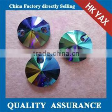 0106L wholesale china sew on rhinestone,factory price sew on glass,pointback rhinestone