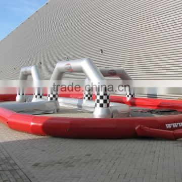 Inflatable air track factory inflatable race track courses for sale