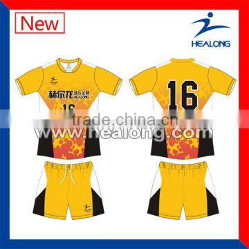Cheapest 100% polyester volleyball jersey