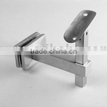 Stainless steel glass bracket square type, glass mounting brackets