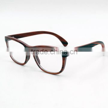 49acbc3d523 2016 Fashion Wood Optical Frame Laminated Wood Aluminum Prescription Glasses  Customized Lens of Wood Optical from China Suppliers - 129103889