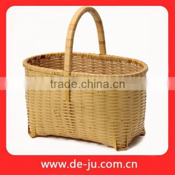 Collapsible Laundry Dirty Clothes Bamboo Laundry Basket