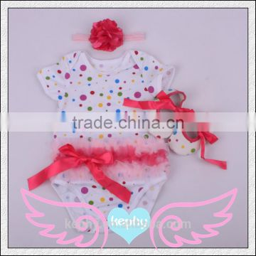 3pcs Baby Boy Girls Kids Newborn Infant Romper Hat Bodysuit Outfit Clothing Set