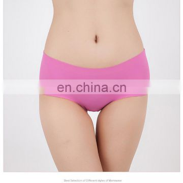 New Women's Panties ice briefs silk Cool seamless underwear female briefs