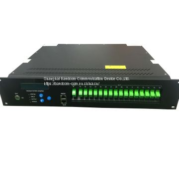 EDFA 16ports High Power Multi-output Optical Amplifier