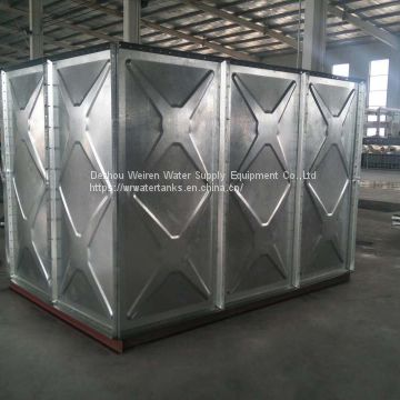 hot dip galvanized water tank of Hot dip galvanized water tanks from