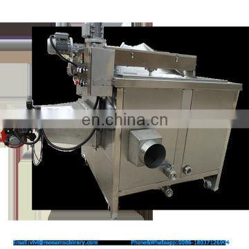 Stainless steel potato chips banana chips continuous fryer