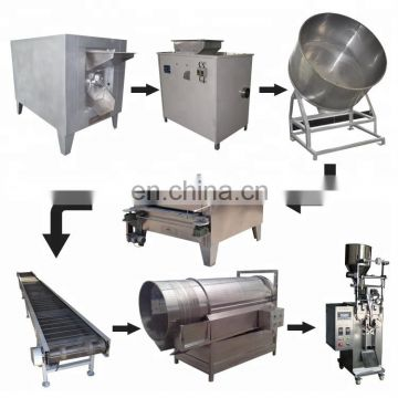 coating machine for peanut cashew nuts coating machine peanut coating machine